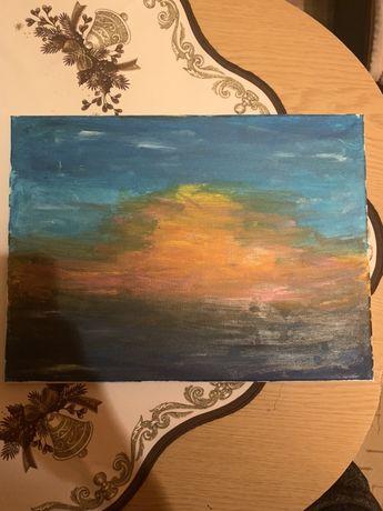 Obraz wschód Słońca