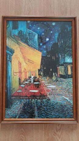 Obraz Vincent van Gogh - Taras kawiarni nocą