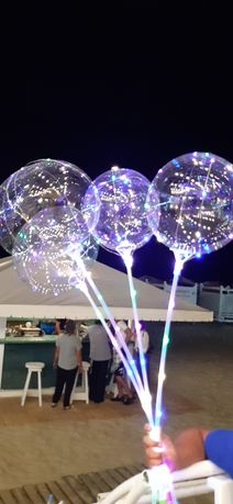 Светящиеся шарики шар бобо / ручка/палка/розетка и шар