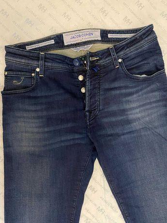 Мужские джинсы брюки jacob cohen не gucci brunello cucinelli tom ford