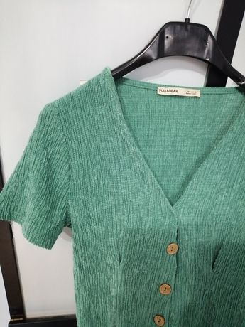 Zielona sukienka Pull&Bear XS