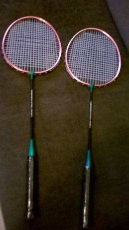 Jak Nowe Rakietki do Badmintona-Tempered Steel Shaft+Pokrowiec Gratis