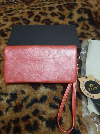 Женский кошелёк, клатч, визитница  портмоне.