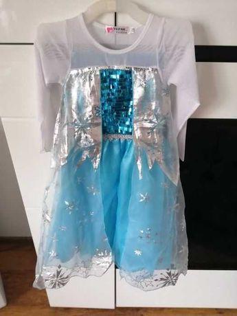 Śliczna sukienka Elsy