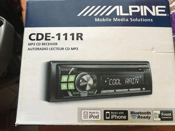 Radio Alpine CDE-111R stan idealny