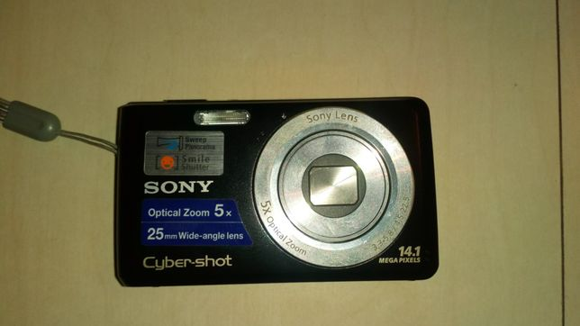 Aparat Sony cyber-shot dsc w 520