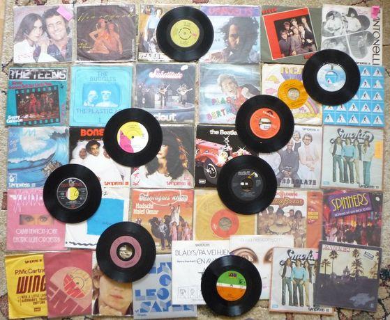 Klasyka disco lat 70, 80 i 90 na singlach winylowych