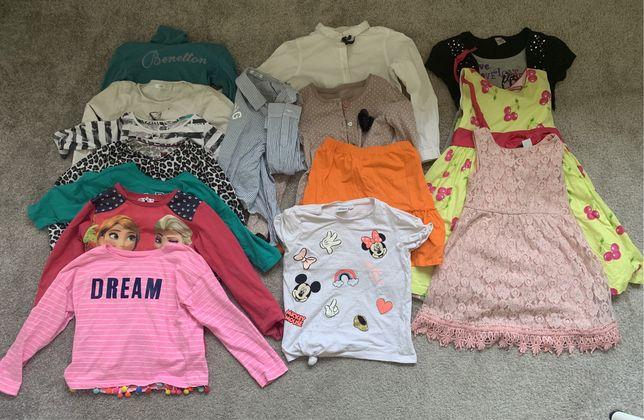 Ubrania dla dziewczynki rozmiar 122-128
