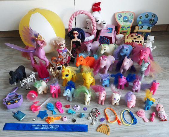 Zestaw zabawek koniki kucyki My Little Pony Cadance lalki piłka