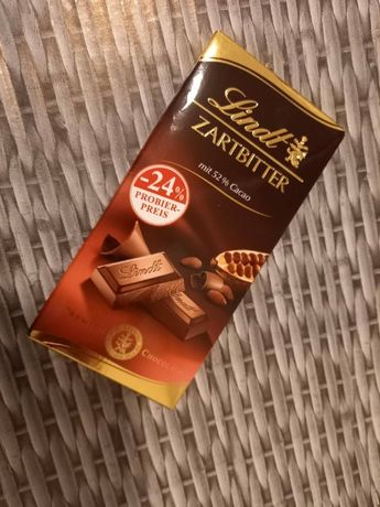 Lindt Lindor Czekolada gorzka 52% kakao 100 g
