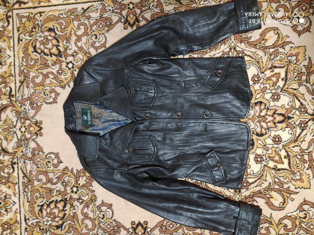 Кожаная натур. куртка, пиджак, кожанка