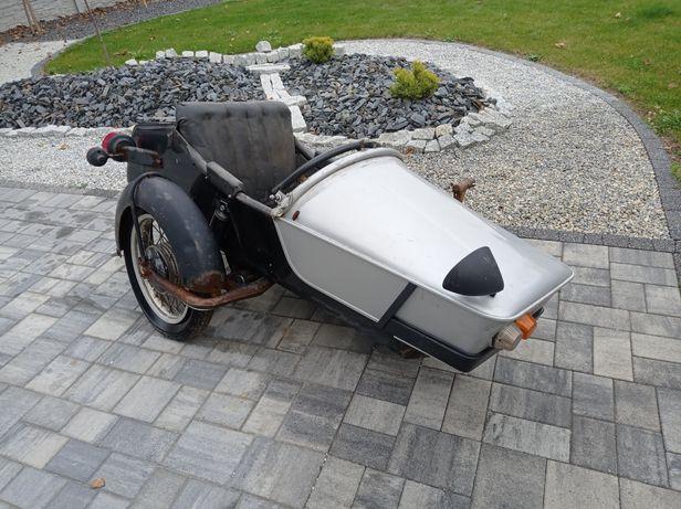 Kosz boczny Superelastic MZ ETZ 250 251 wózek Seitenwagen Gespann