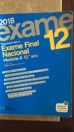 Manual de Preparação para o Exame de História A - Porto Editora