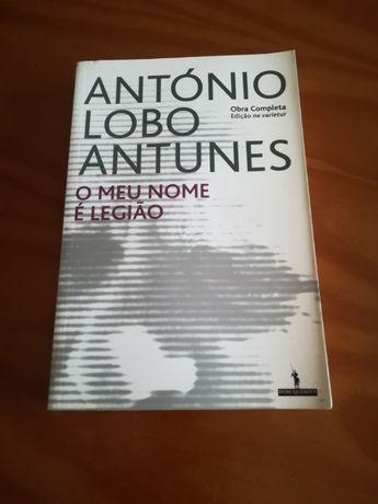"""Livro de António Lobo Antunes """"O meu nome é Legião"""""""