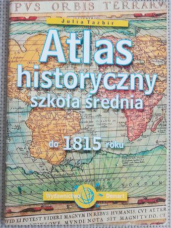 Atlas historyczny - Szkoła średnia