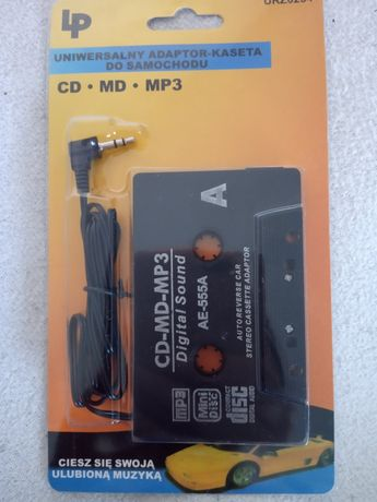 Kaseta MP3 Jack adapter AUX adaptor do auta NOWE