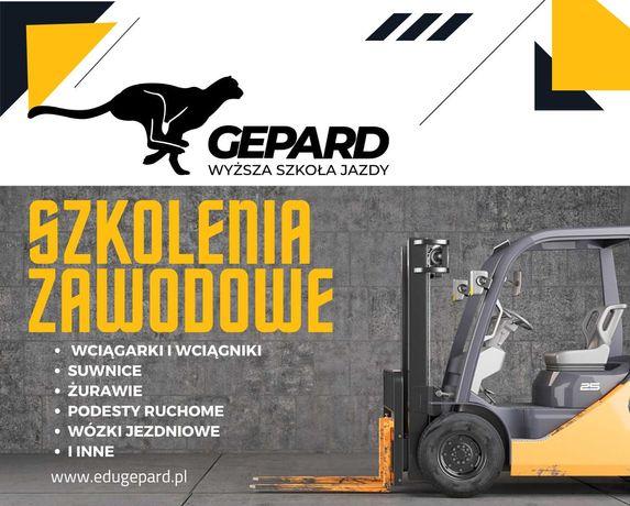 Kursy Zawodowe Operator Suwnicy, Żurawia, Podestów, Wózków Jezdniowych