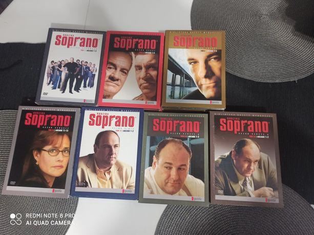 Rodzina Soprano 6 sezonów DVD
