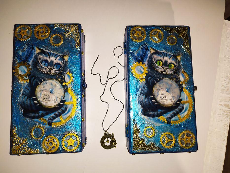 Шкатулка-купюрница с Чеширским котом Константиновка - изображение 1