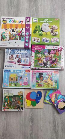 Puzzle, gry edukacyjne dla dzieci