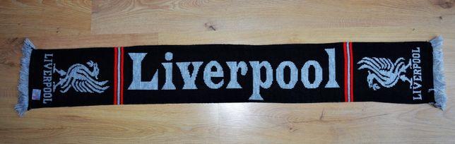 Oryginalny szal FC Liverpool made in UK, Anglia. Salah, Van Dijk