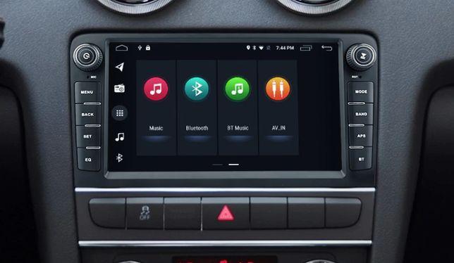 Radio nawigacja Audi A3 S3 8P 2003=2012 Android WiFi Bluetooth GPS
