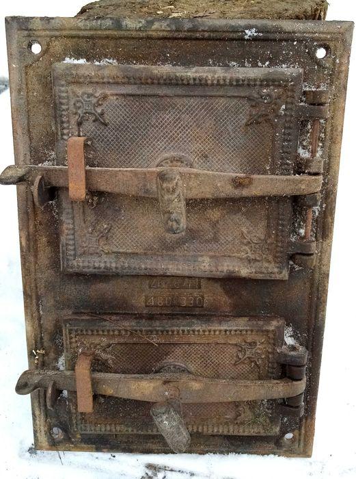Drzwiczki żeliwne od pieca zdobione Wałbrzych - image 1