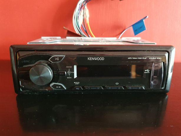 Radio samochodowe Kenwood kmm-100 USB