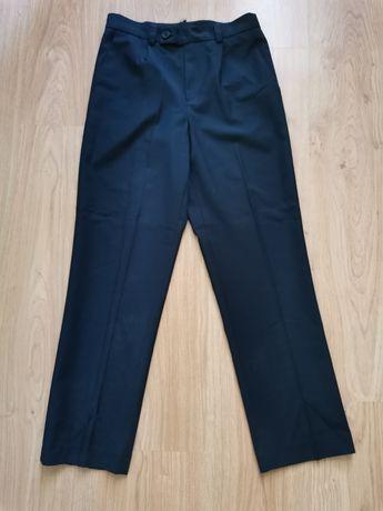 Школьные классические брюки на резинке для мальчика р128-134. Польша