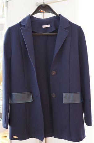 Школьный пиджак Suzie, удлиненный, темно-синий, размер 158