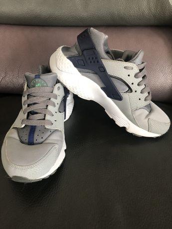 Air Nike Huarache r. 38 szare srebrne