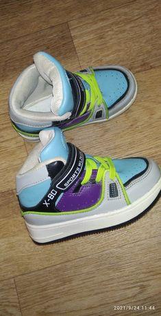 Ботинки весна-осень. Обувь на мальчика. Хайтопы Высокие кеды кроссовки