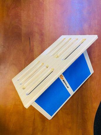 4-poziomowa regulowana skośna deska drewniana do rozciągania