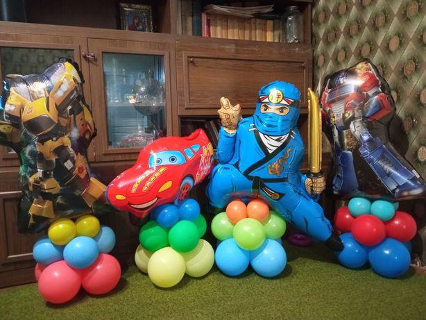 Продам композицию фольгированные шарики шары