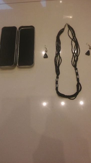 biżuteria naszyjnik+kolczyki