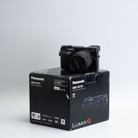 Aparat Panasonic Lumix GX7 + obiektyw 14-45mm
