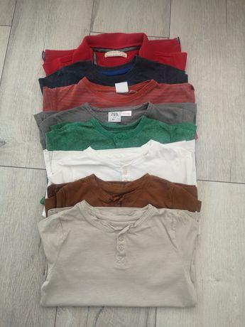 Bluzki dla chłopca 110/116 Zara, h&m