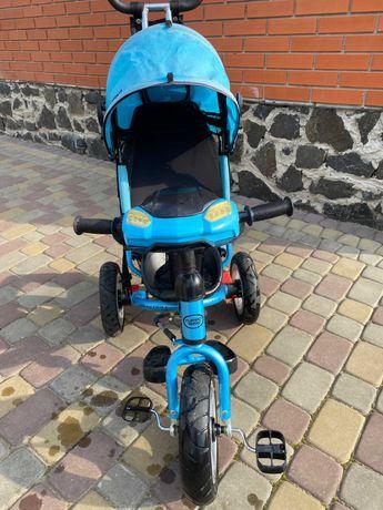 Продам дитячий велосипед з батьківською ручкою