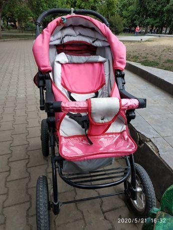 Всепроходящая коляска - трансформер. Ваша принцесса будет самая модная