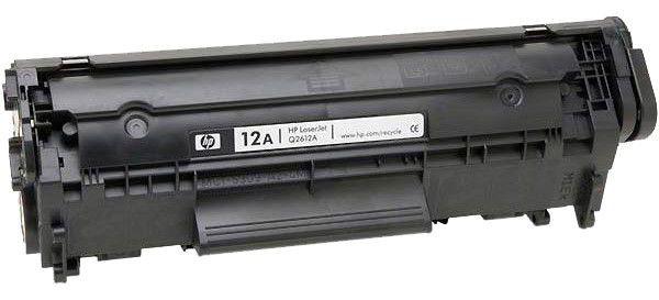 Оригинальный картридж HP 12A (Q2612A), Canon 703 - 1 год гарантия