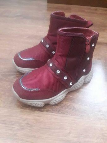 Демосизонные ботинки для девочки 29 сказка