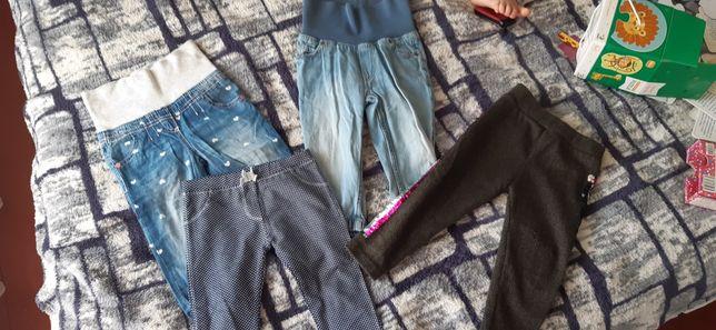 Набір штанів для дівчинки. За все 250 грн.