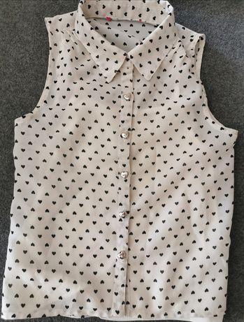Bluzeczka koszula hm reserved next zara