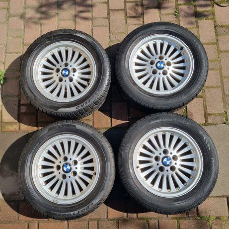 Kompletne koła: alufelgi + opony zimowe BMW E39 E60 E61 R16