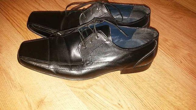Next eleganckie pantofle meskie roz 43 dł dł wkł 28,5 cm