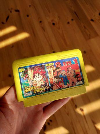 Cartridge Pegazus retro Adventure Island 3 (dinozaury)
