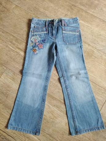 Spodnie jeansy NEXT 122 cm