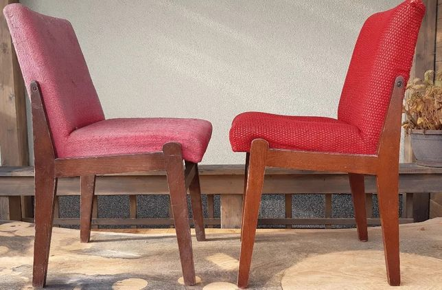 krzesło prl Aga 2szt