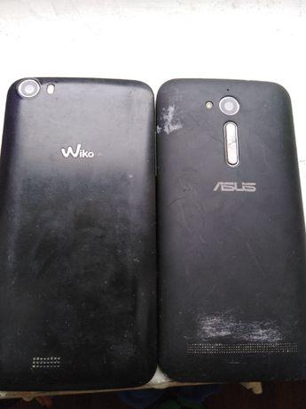 2 uszkodzone telefony