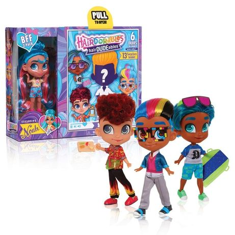 Набор кукол Хердораблес мальчик и девочка Hairdorables HairDUDEables
